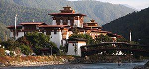Punakha Dzong with Bridge