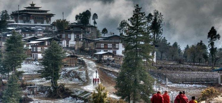 Bhutan Winter
